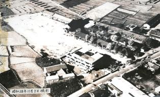昭和38年11月3日上空写真